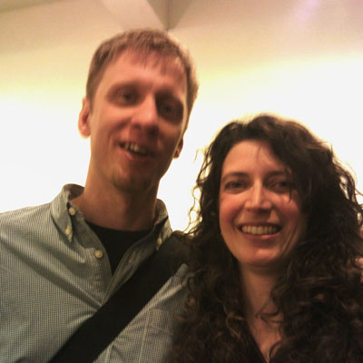 Michelle & Tom Persinger at CCNY show